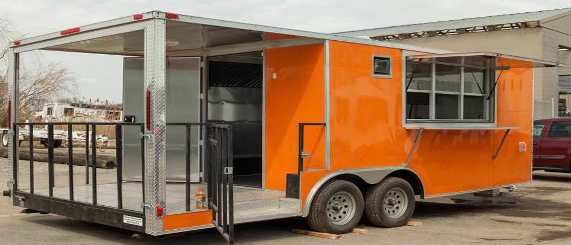 Custom Food Trucks and Concession Trailers